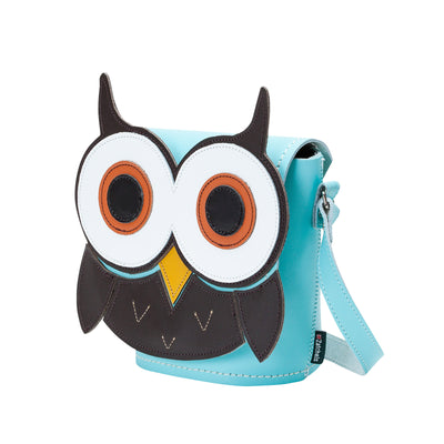 Farley Owl Animal Leather Novelty Bag
