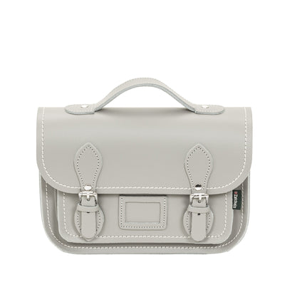 Ghost Leather Midi Satchel - Midi Satchel - Zatchels