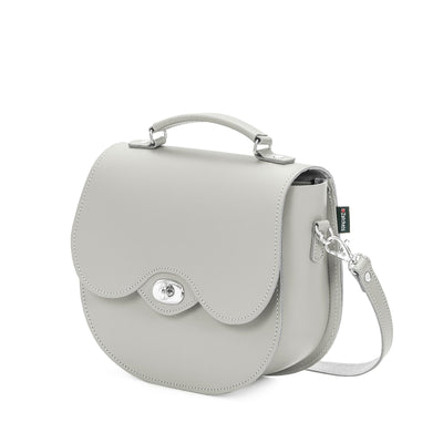 Ghost Leather Twist Lock Saddle Bag