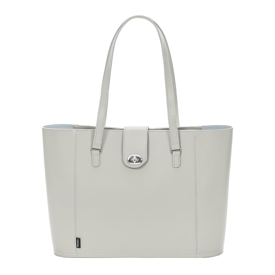 Ghost Leather Twist Lock Shopper 0288ad2ce