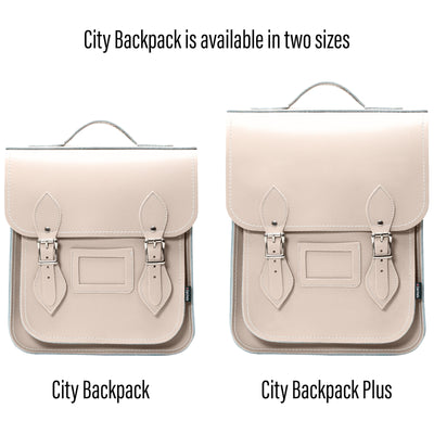 Iced Coffee Leather City Backpack