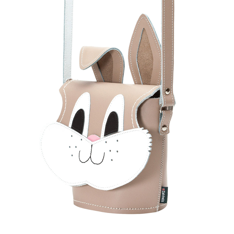 Jack Rabbit Animal Leather Novelty Bag