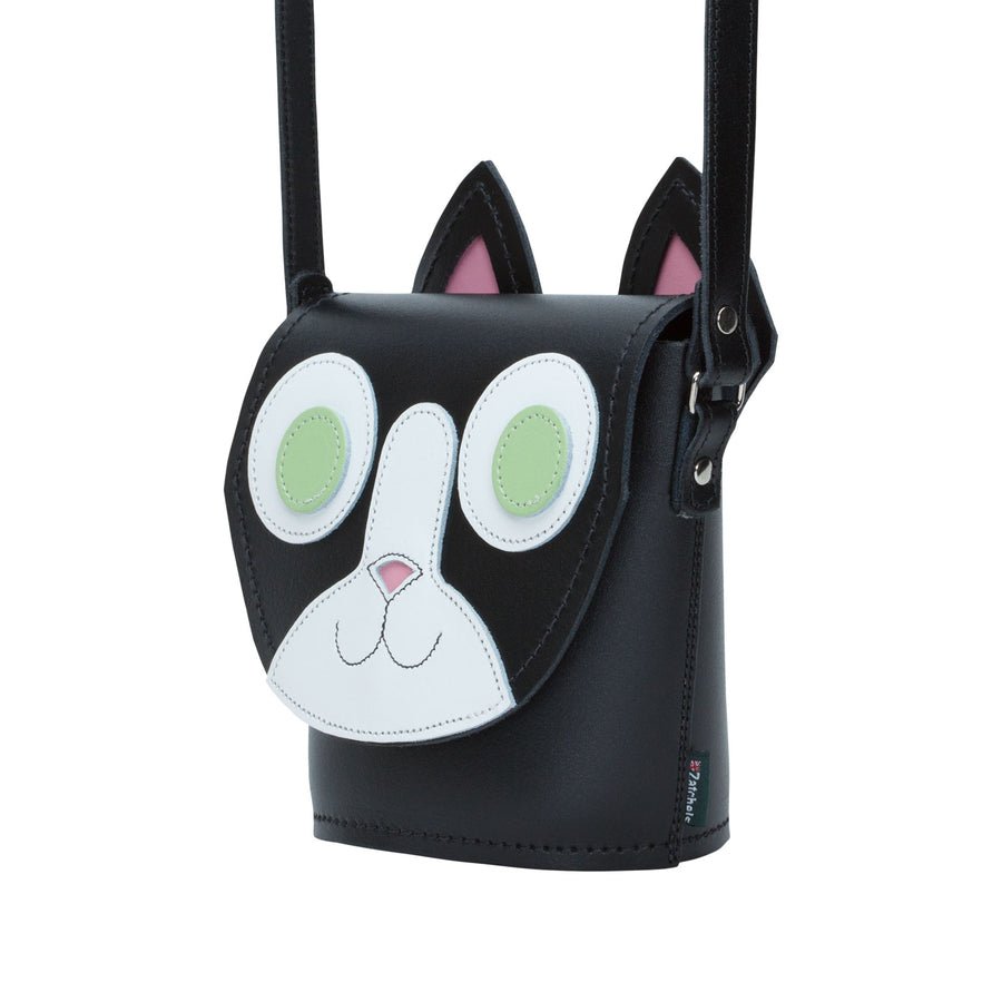 Kitty Cat Leather Bag