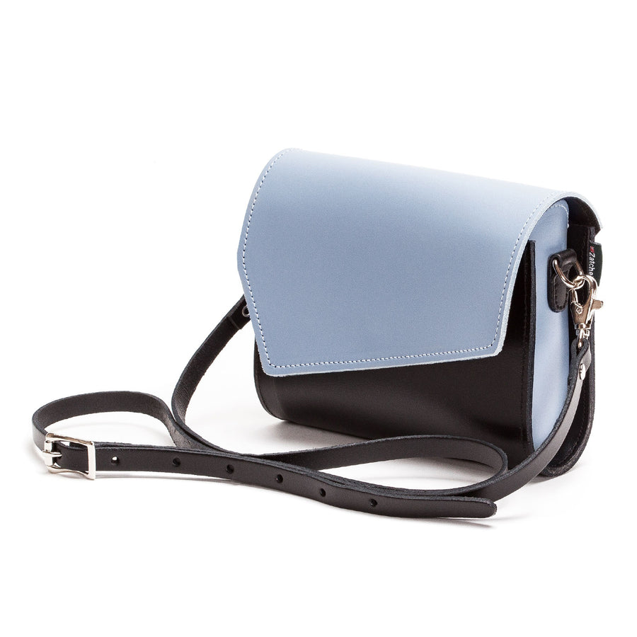 Mocha Mauve Leather Clutch - Clutch Bag - Zatchels