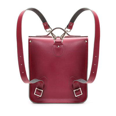 Oxblood Leather City Backpack