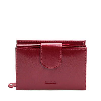 Oxblood Leather Purse