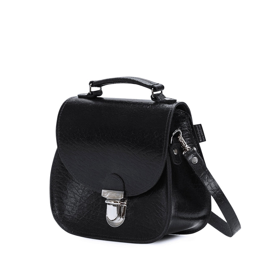 Black Executive Leather Peardrop