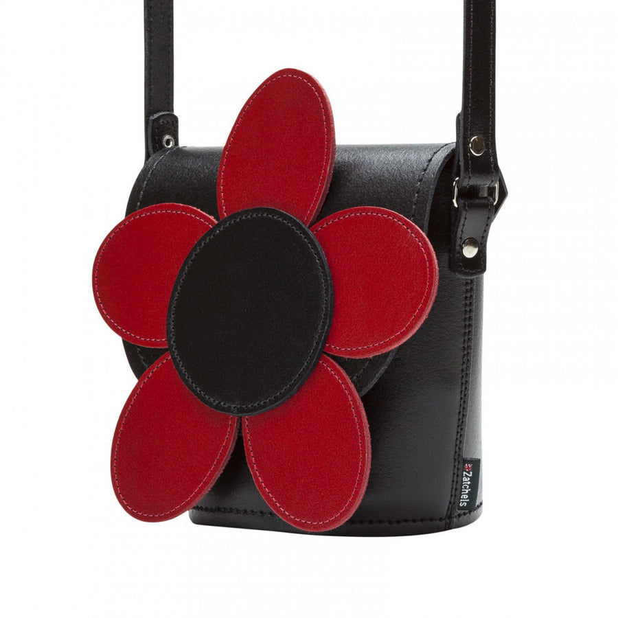 Poppy Leather Novelty Bag