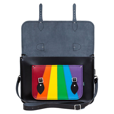 Pride Leather Satchel