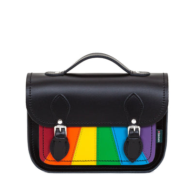 Pride Leather Midi Satchel
