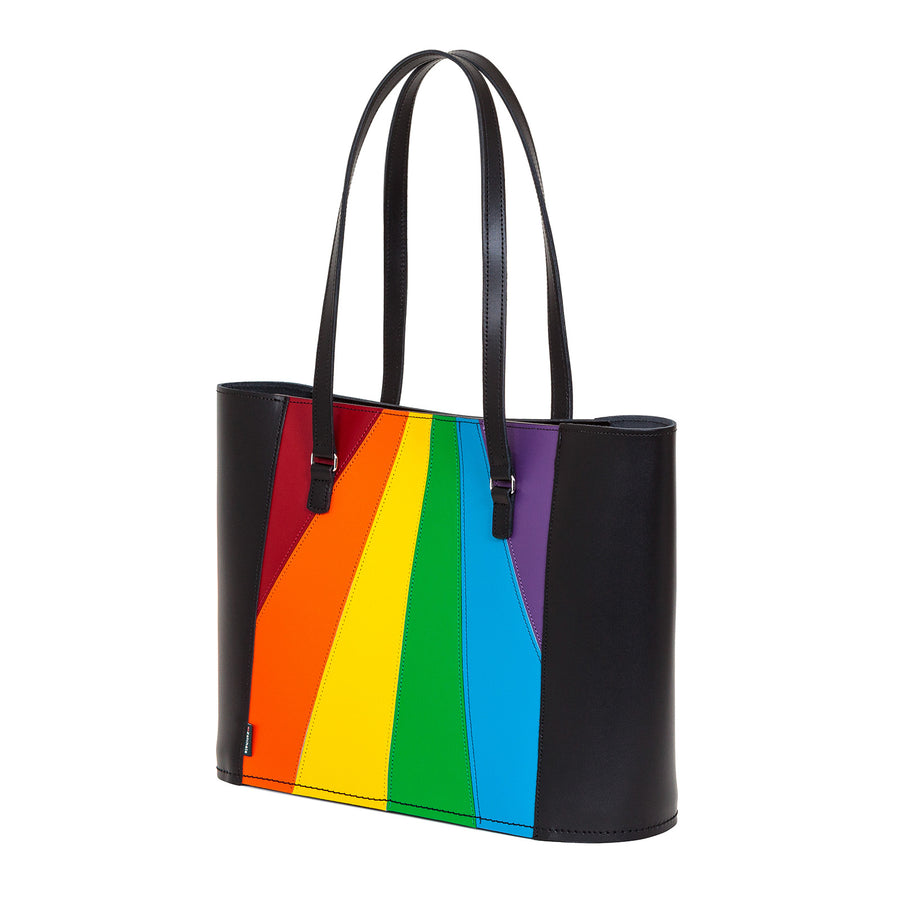 Pride Leather Shopper