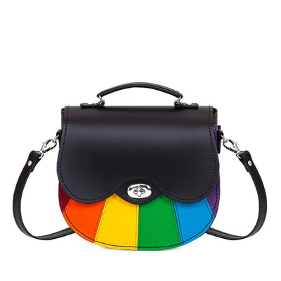 Pride Leather Saddle Bag