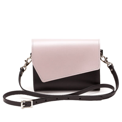 Rose Truffle Leather Clutch