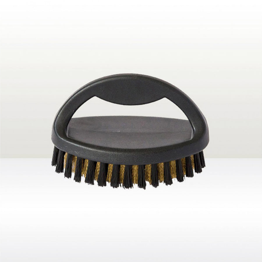 Plastic Handled Small Suede Brush - Care Products - Zatchels