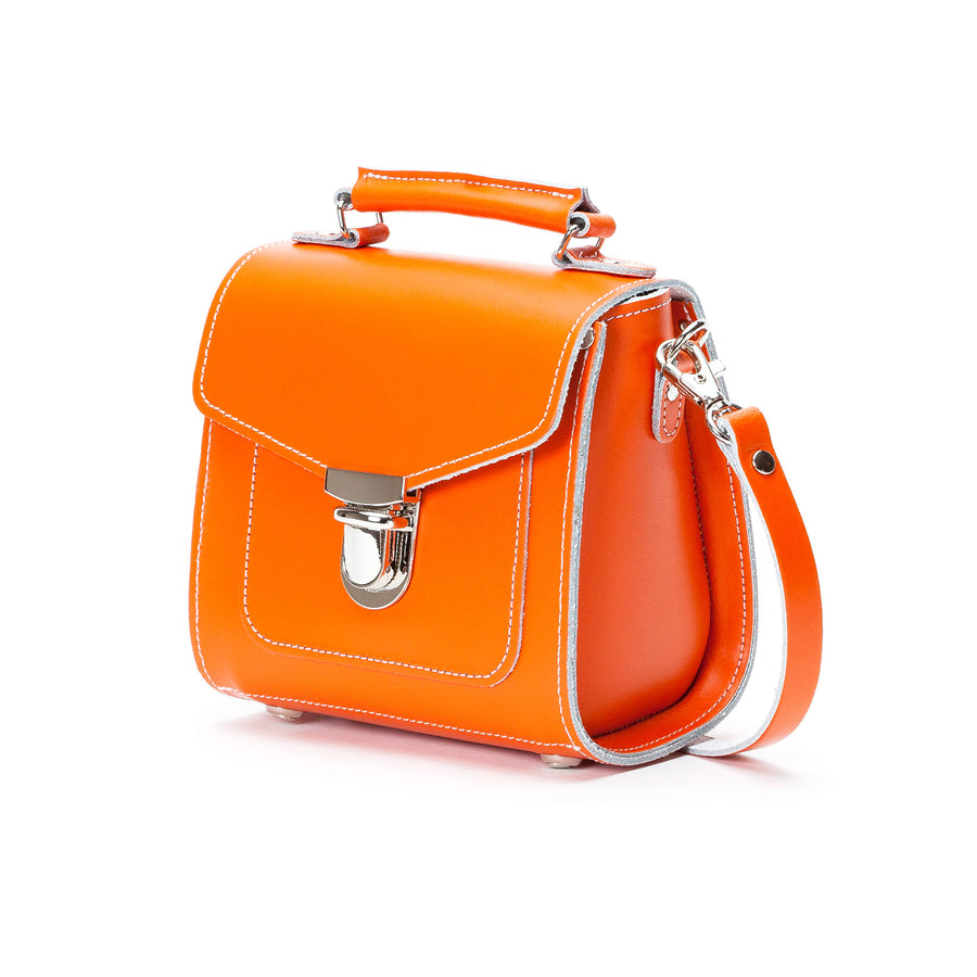 Orange Leather Sugarcube - Sugarcube - Zatchels