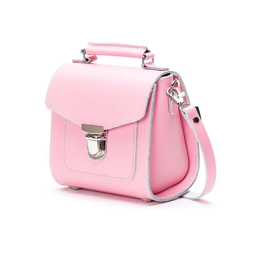Pastel Pink Leather Sugarcube - Sugarcube - Zatchels