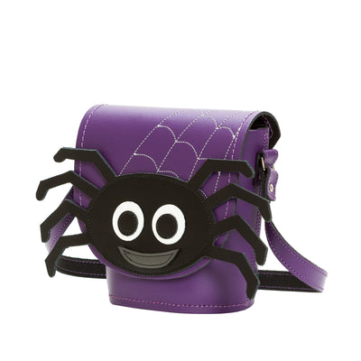 Webster Spider Leather Bag - Novelty Bag - Zatchels