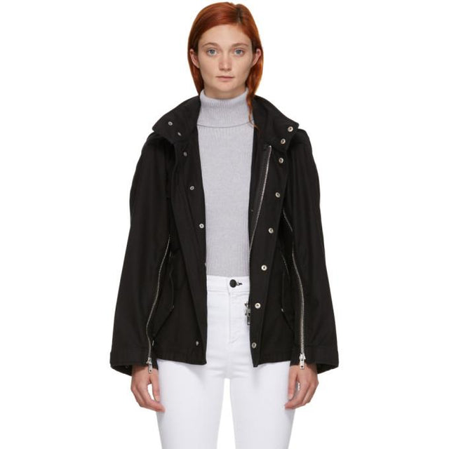 3.1 Phillip Lim Black Field Jacket-BlackSkinny