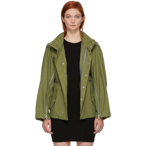 3.1 Phillip Lim Green Field Jacket-BlackSkinny