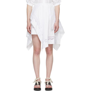 3.1 Phillip Lim White Handkerchief Skirt-BLACKSKINNY.COM
