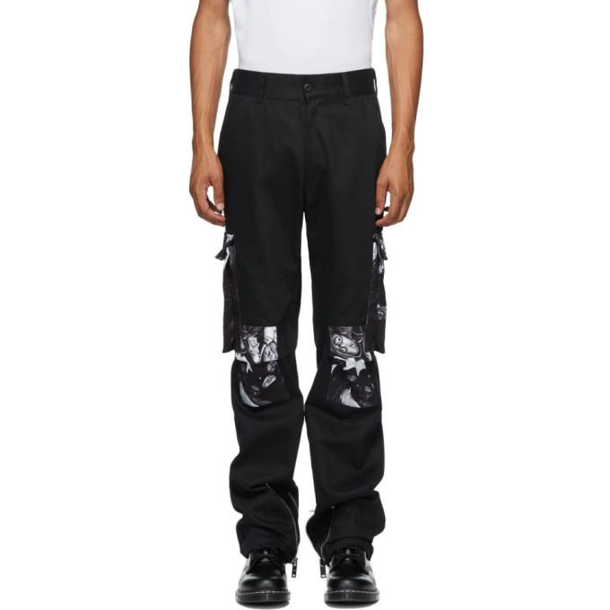 424 Black Wu-Tang Cargo Pants