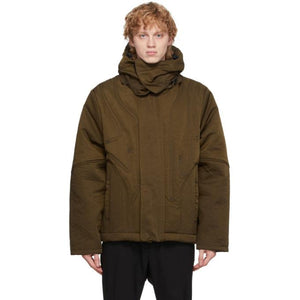 A-COLD-WALL* Brown Quilted Suilven Jacket