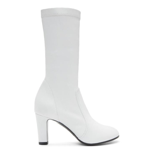 A_Plan_Application White Low Stretch Boots-BLACKSKINNY.COM