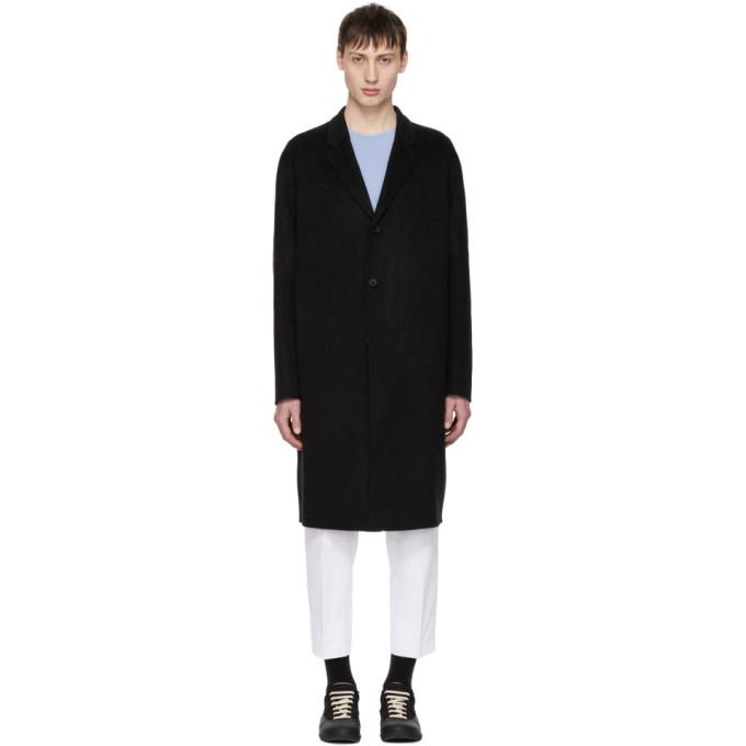 Acne Studios Black Chad Coat-BlackSkinny