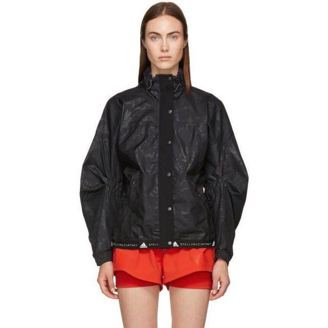 adidas by Stella McCartney Black Run Wind Jacket-BlackSkinny