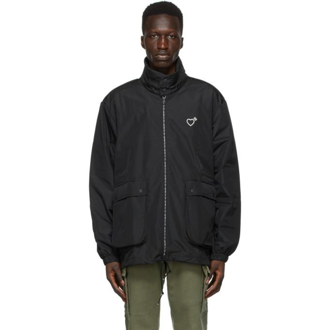 adidas x Human Made Black HM Inflatable Jacket