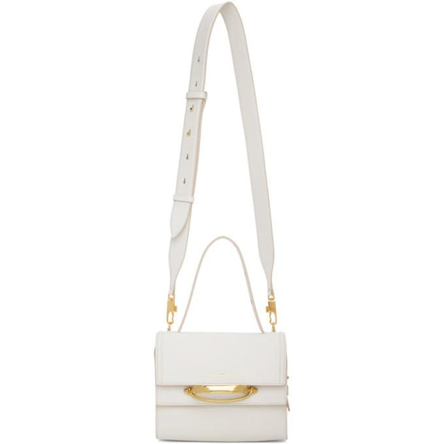 Alexander McQueen Off-White The Story Bag