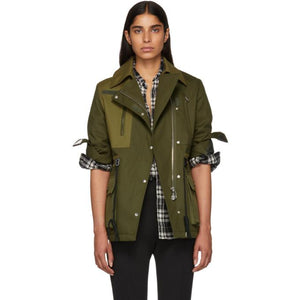 Altuzarra Green Chet Jacket-Jackets & Coats-BLACKSKINNY.COM