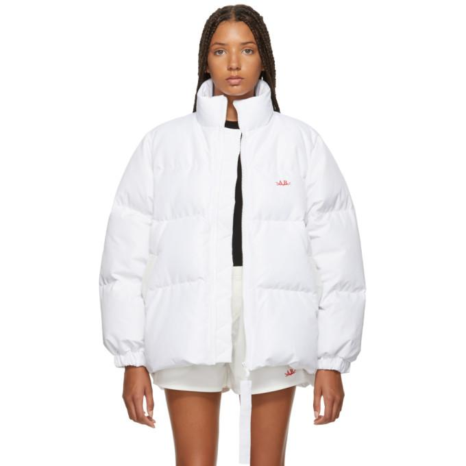 Anton Belinskiy White Down Jacket-BlackSkinny