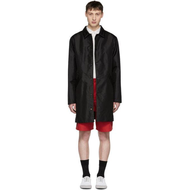 A.P.C. Black Doctor Jacket-BlackSkinny