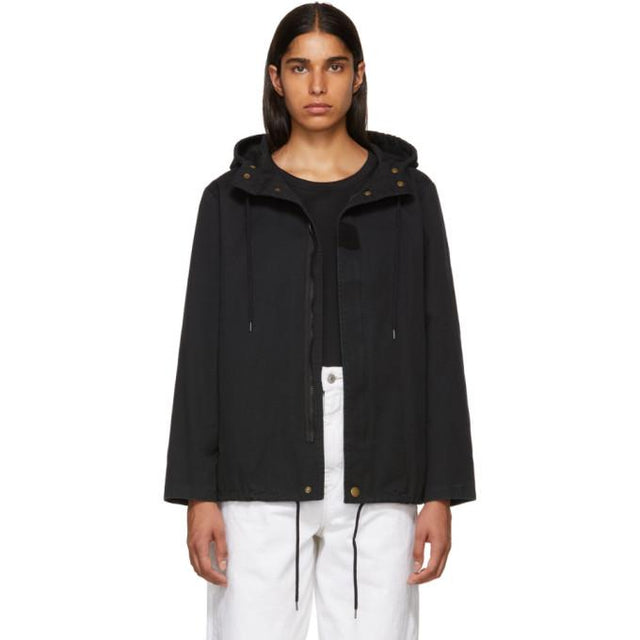 A.P.C. Black Paintball Coat-BlackSkinny