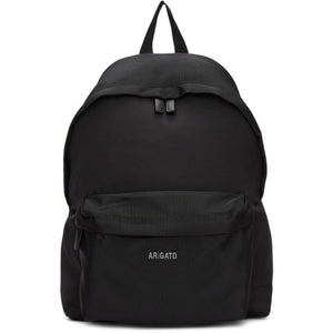 Axel Arigato Black Sterling Logo Backpack