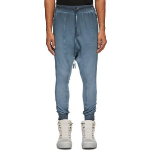 Boris Bidjan Saberi Blue Long John Lounge Pants