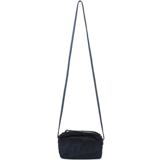 Boris Bidjan Saberi Navy Simple Messenger Bag