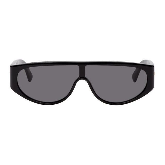 Bottega Veneta Black Mask Sunglasses