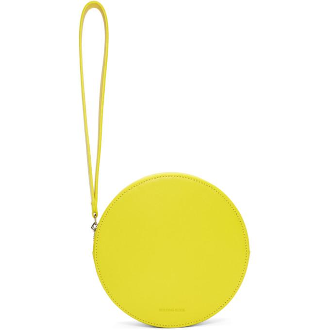 Building Block Yellow Puck Pouch-Bags-BLACKSKINNY.COM