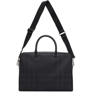 Burberry Black London Check Ainsworth Briefcase