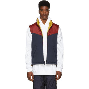 Burberry Reversible Tricolor Down Penwell Vest-BlackSkinny