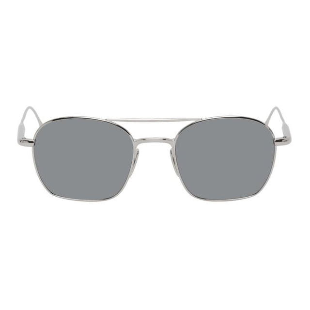 Byredo Silver The Engineer Mirrored Sunglasses