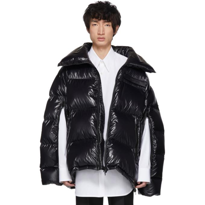 Calvin Klein 205W39NYC Black Down Oversized Jacket-BlackSkinny