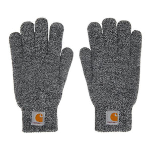 Carhartt Work In Progress Black and White Scott Gloves