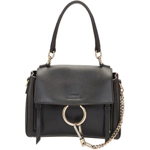 Chloé Black Mini Faye Day Bag-Bags-BLACKSKINNY.COM