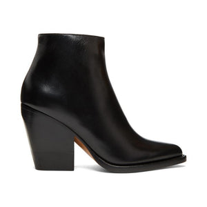 Chloé Black Rylee Low Boots-BLACKSKINNY.COM