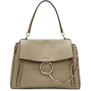 Chloé Grey Medium Faye Day Bag-Bags-BLACKSKINNY.COM