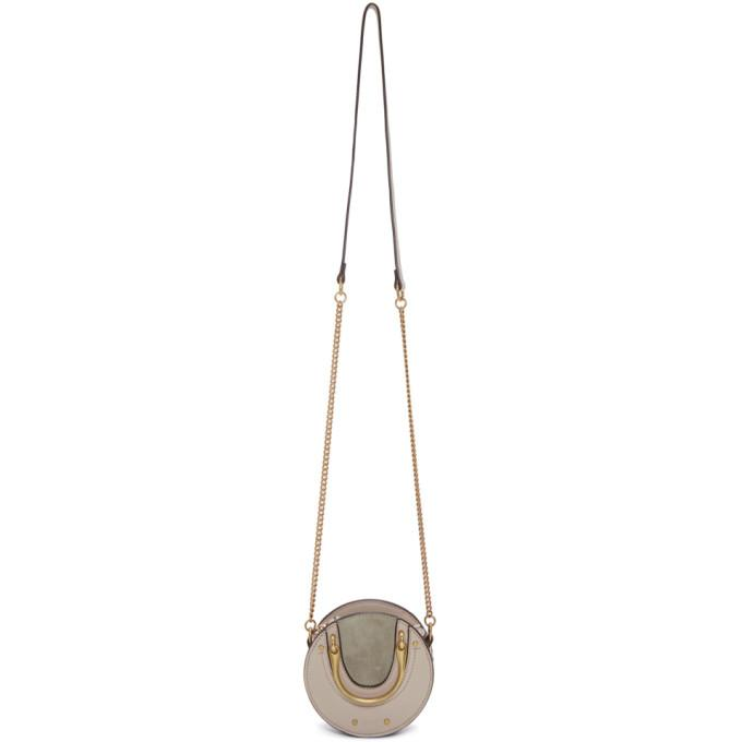 Chloé Grey Mini Pixie Bag-Bags-BLACKSKINNY.COM