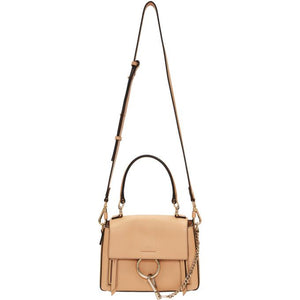 Chloé Pink Mini Faye Day Bag-Bags-BLACKSKINNY.COM